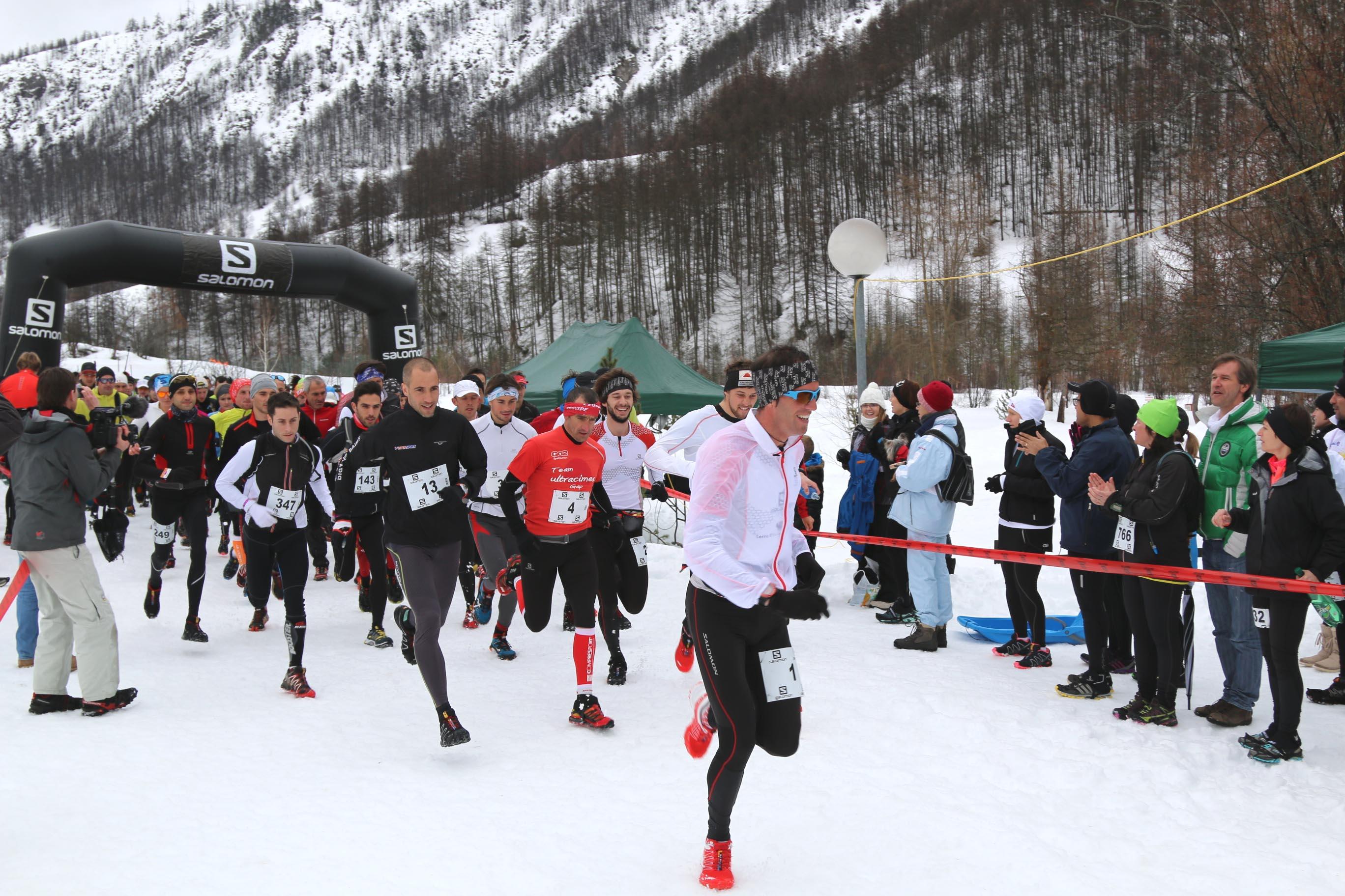 16 février 2014 – Snow Trail Ubaye Salomon: Victoire de Michel LANNE et Fanny NEDELEC