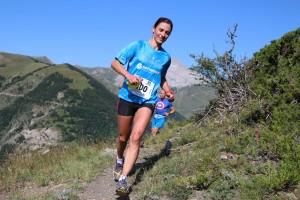 4 Laëtitia Dardanelli 1ère dame 23km Trail Ubaye Salomon photo Stéphane Pillet