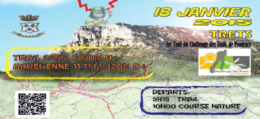 Le Trail du Mont Olympe au complet le 18 janvier pour l'ouverture du challenge 2015