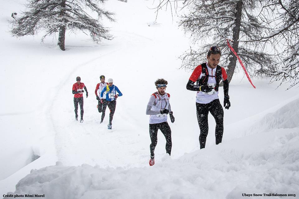 Irina Malejonock et Frédéric Gaethofs vainqueurs du Snow Trail Ubaye Salomon