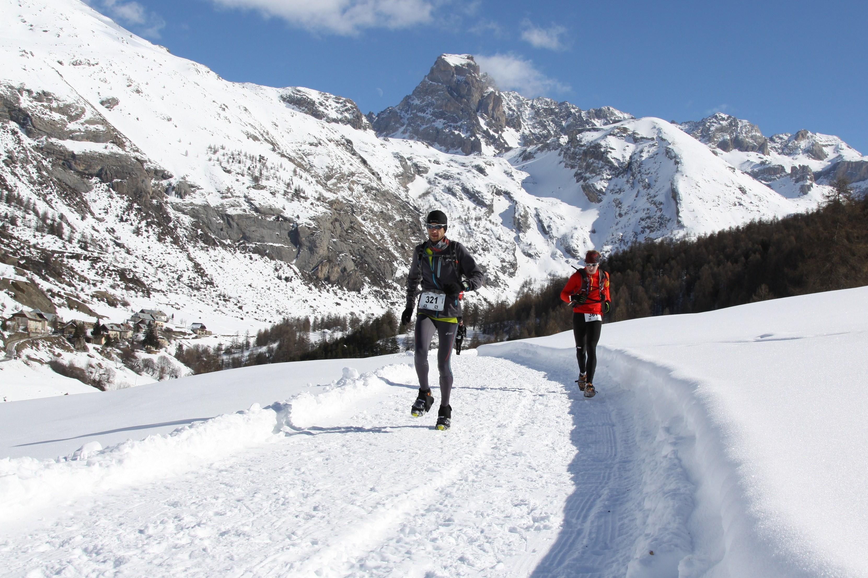 Présentation Ubaye Snow trail Salomon