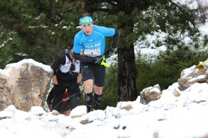 3 Nicolas Martin 2ème 44 km trail du Ventoux 2015 photo Robert Goin