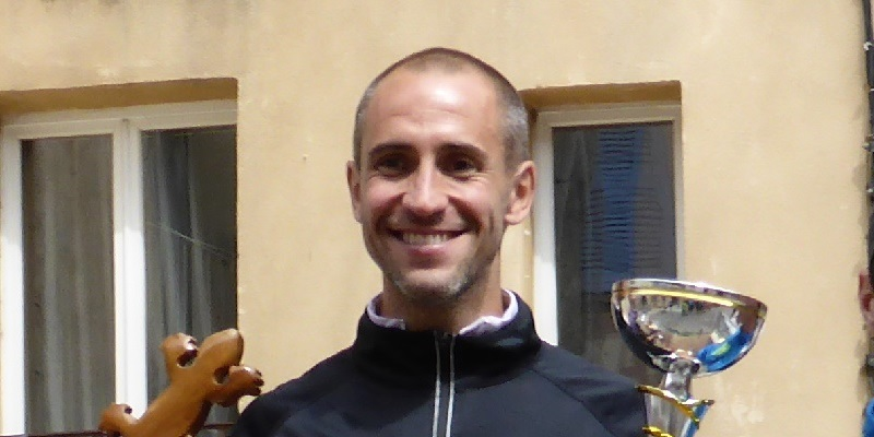 Frédéric GAETHOFS: L'homme fort du Challenge des Trails de Provence 2015