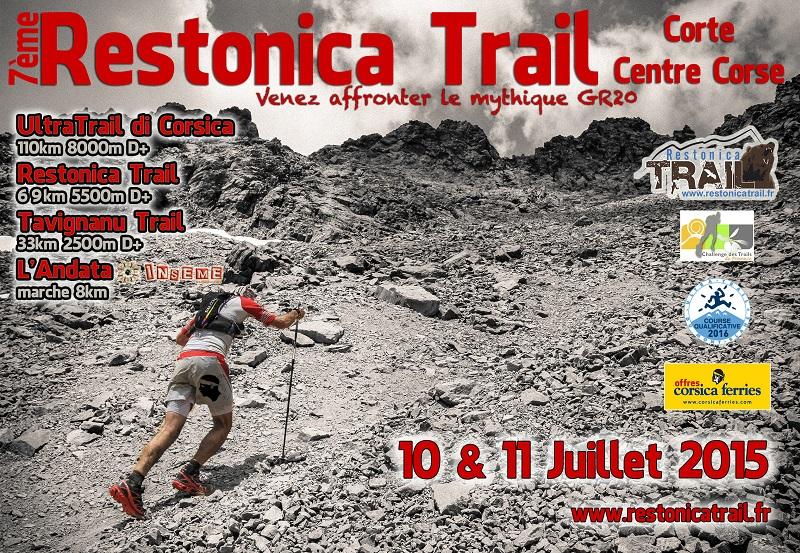 PRESENTATION DU RESTONICA TRAIL DU 11 JUILLET