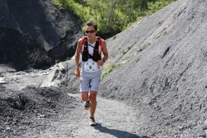 5 Matthias Mouchart 2ème 42 km trail Ubaye Salomon 2014 photo Robert Goin