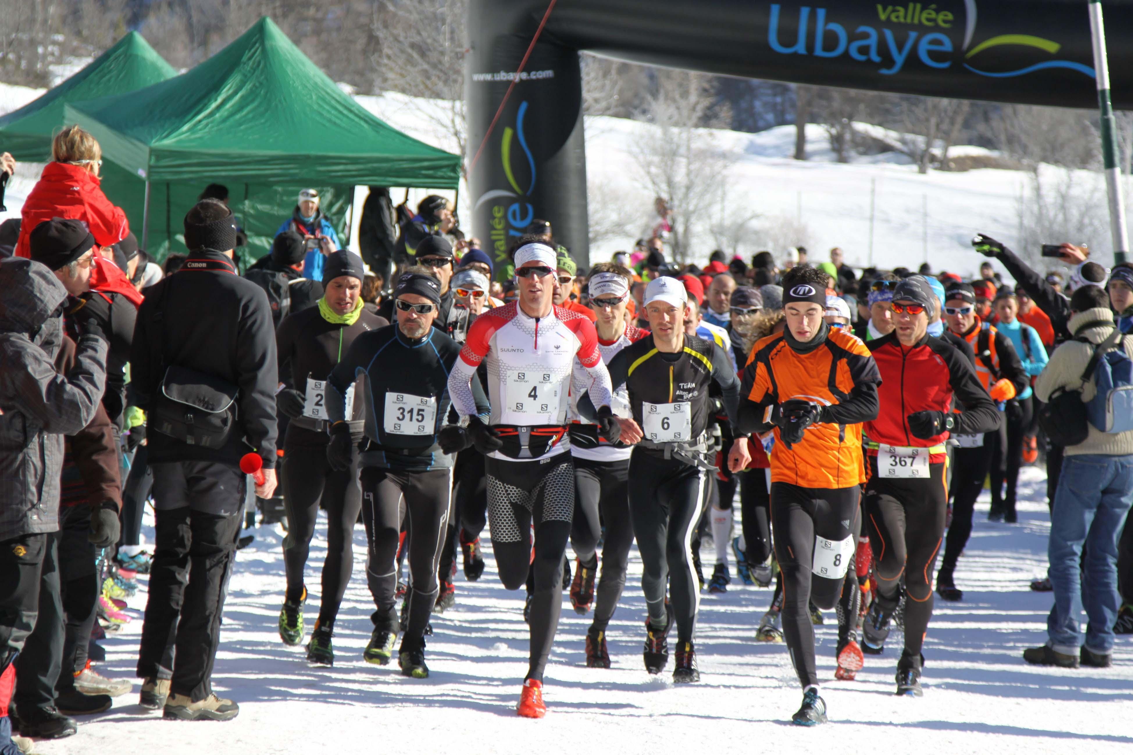 Ubaye Snow Trail Salomon classique du calendrier hivernal le 14 février