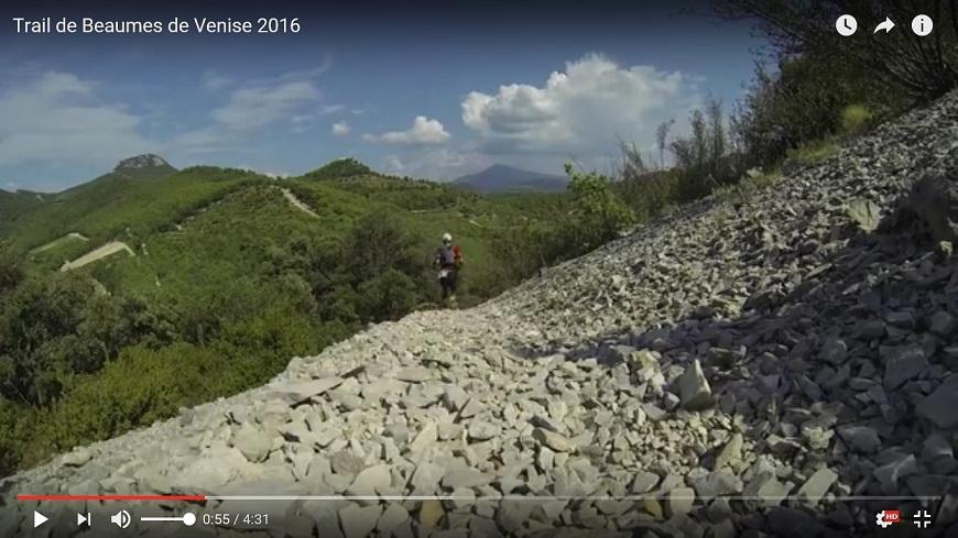 Trail de Beaumes de Venise 2016 en vidéo