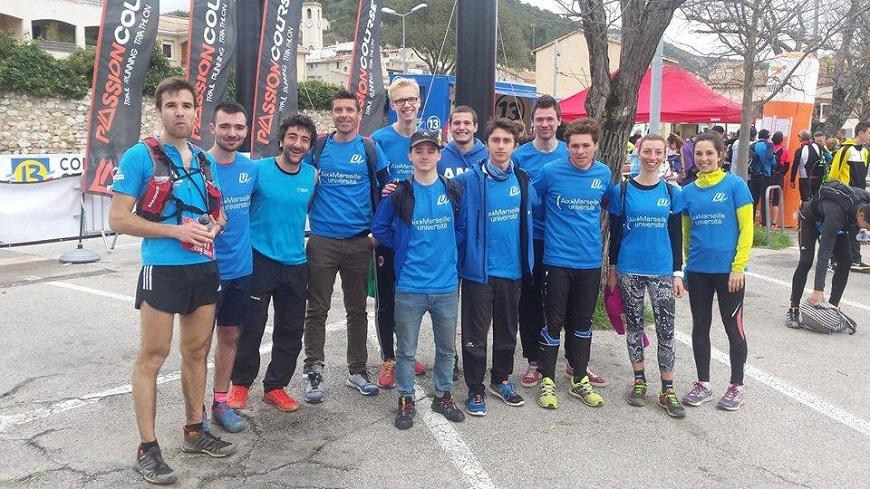 La Team Trail AMU, de la Provence à La Réunion