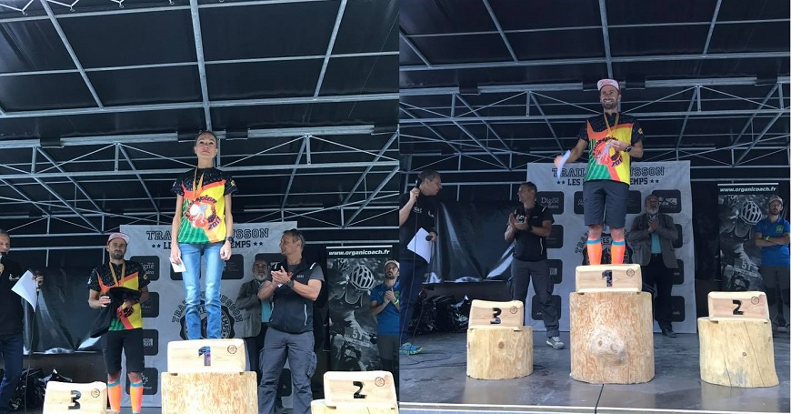 Trail du Cousson : Maryline Nakache et Sébastien Henri, premiers champions des Trails de Provence