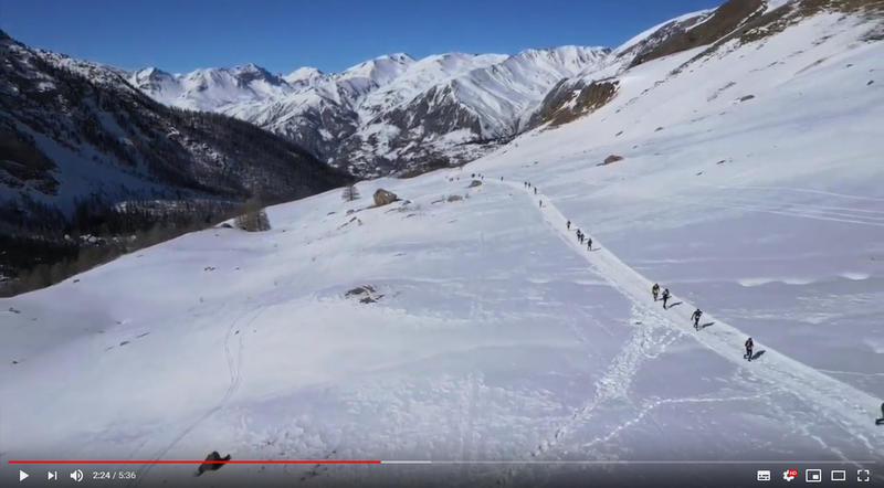 Ubaye Snow Trail 2019 – La vidéo