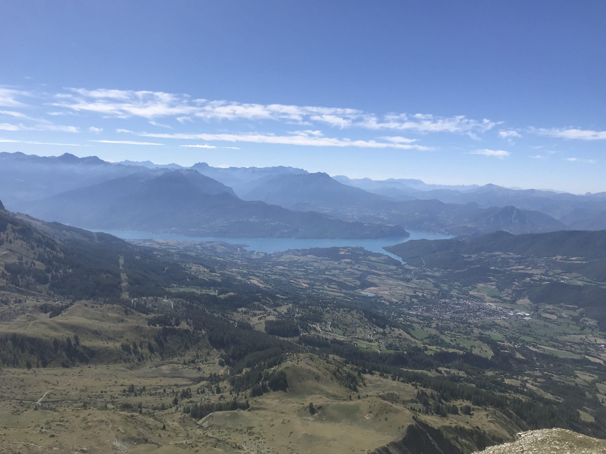 Vue au sommet du Piolit (crédit photo Méryl Recotillet)