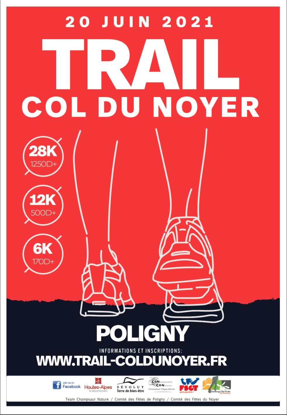 Trail du Col du Noyer du 20 Juin-Présentation