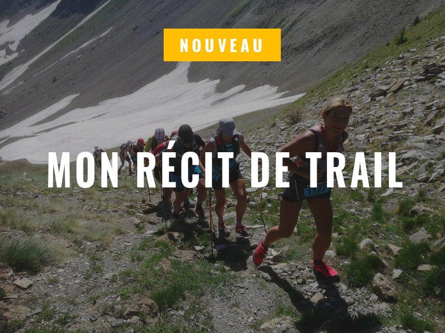 Nouveau: Mon Récit de trail